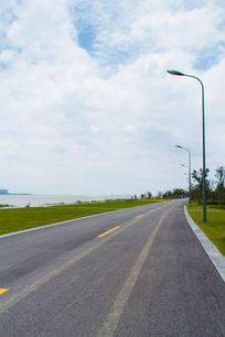 苏州湾公路素材
