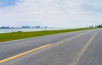 苏州湾太湖边公路