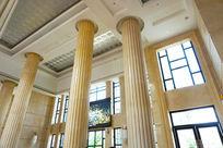 酒店装饰柱子