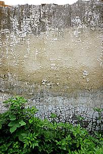 泥墙裂纹背景