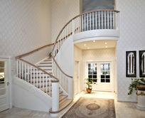 别墅楼梯实景图片