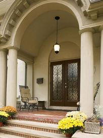 拱形门廊设计效果图片