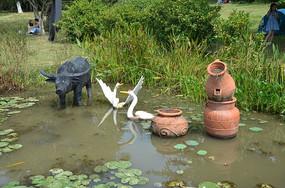 陶制品和现代工艺品