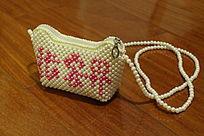 张家界串珠珍珠单肩包小包