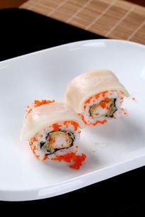 白豚鱼鱼子海鲜卷