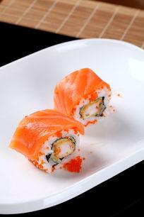 三文鱼鱼子海鲜卷