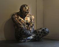 雕塑沉思者