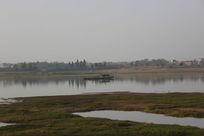 风景—湖泊渔船景