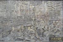 钢版画-火红的年代