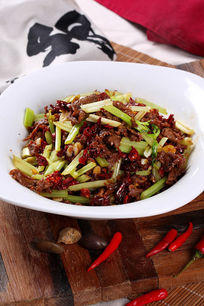 干椒炒牛肉