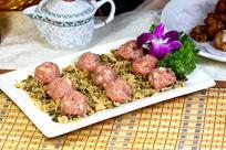 梅菜蒸肉丸火锅料