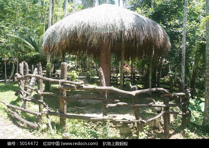 树林里的蘑菇亭