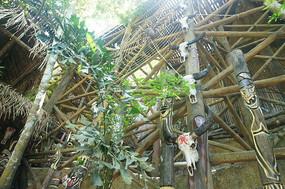 原始部落的房屋