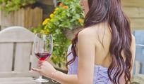 美女红酒写真