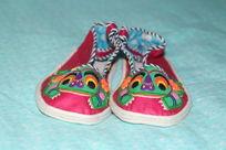 青蛙布鞋正面照片