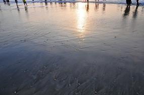 台山上川岛退潮