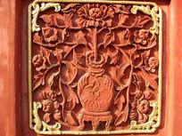 传统艺术木雕刻