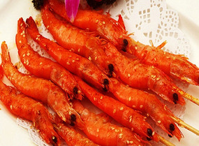 烧烤龙虾拍摄高清图片素材