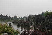 石林入门周总理挚爱绝佳风景湖