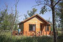 小镇上的森林木屋
