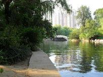 郑州市人民公园园林景观