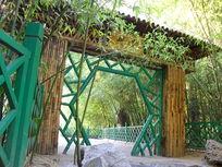 竹林里的创意设计景观