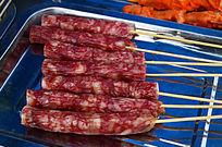 烧烤香肠火腿肠