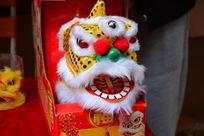 传统舞狮子狮头饰物