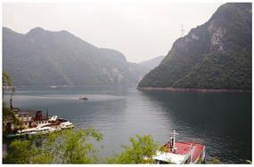 三峡水库景色