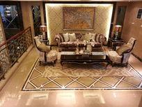 别墅负一层客厅