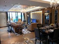别墅客厅饭厅