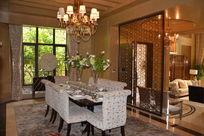 别墅西洋饭厅