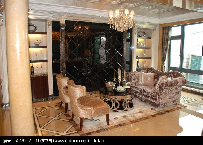 欧式豪宅客厅图片