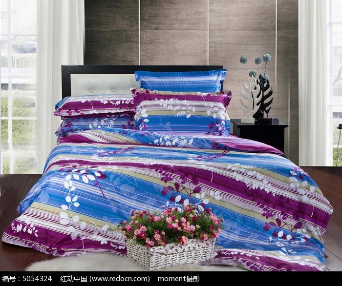 欧式床铺粉色蕾丝9件套图片