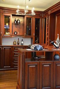 样板房欧式开放式厨房