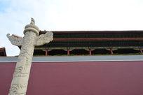 北京的天安门城楼
