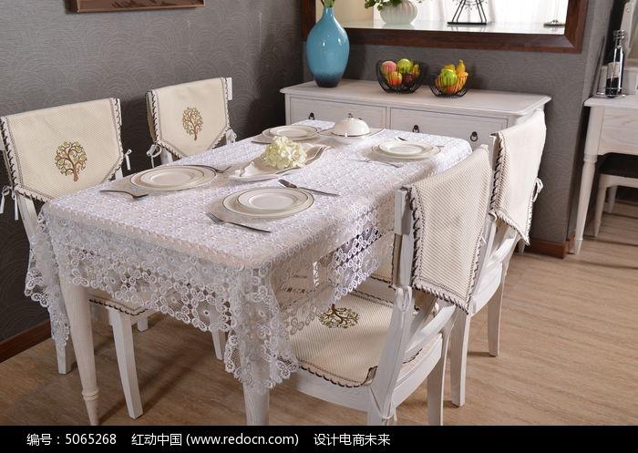 餐桌单体手绘马克笔