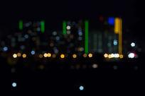 城市霓虹夜景