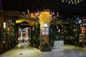 广州时尚天河地下商场商店