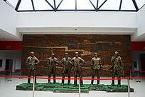 红军伟人铜像