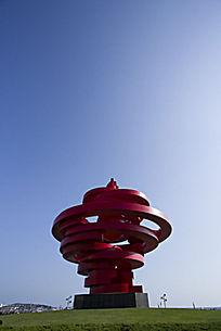 青岛五四广场标志
