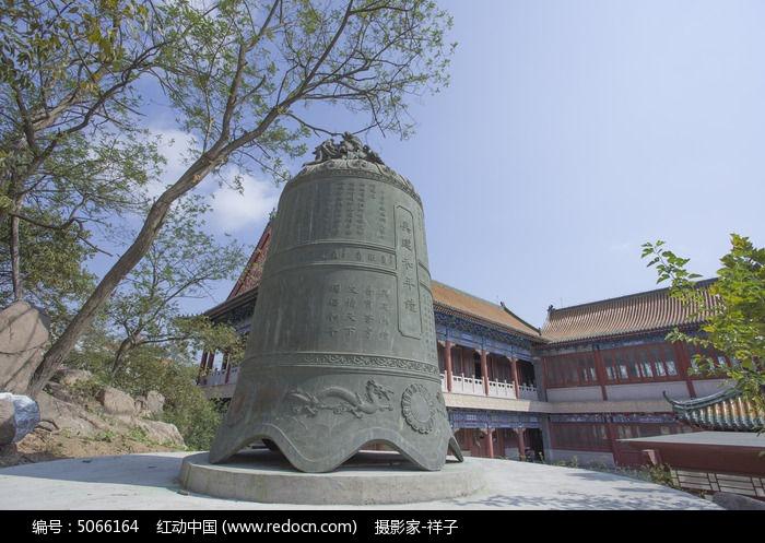 青岛湛山寺的钟图片,高清大图_教堂寺庙素材