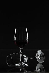 玻璃红酒酒杯