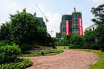 地产楼盘绿化