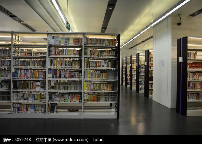 广州图书馆书架高清图片下载 编号5059748 红动网