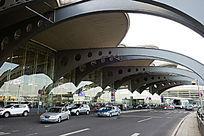 青岛机场航站楼道路