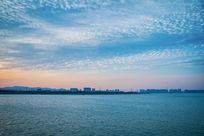 苏州吴江太湖边风光
