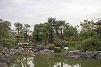 五象湖公园的园林景观