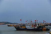归港的渔船