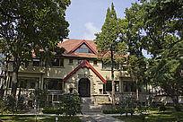 青岛的别墅风景